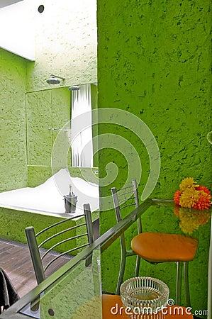 Hotel room bathroom - Jacuzzi