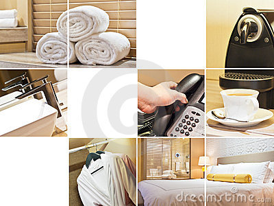 Hotel room collage 2