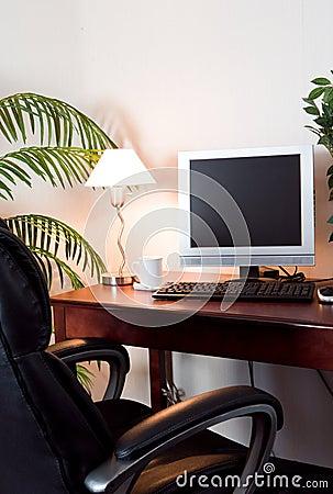 Hotel room computer