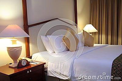 Hotel room room setup
