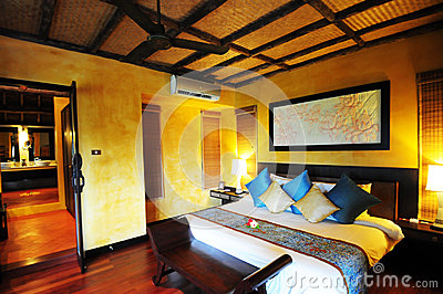 Hotel room in Thailand