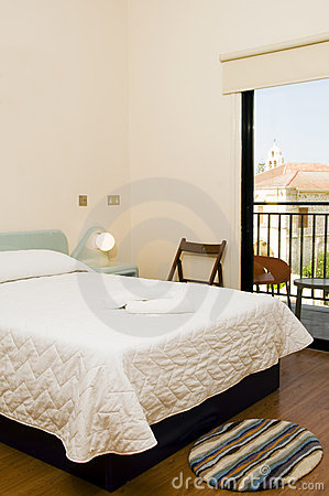 Hotel room with view of church larnaca cyprus
