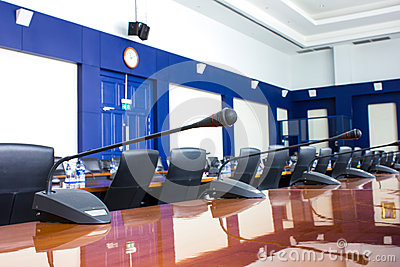 The hotel s conference room