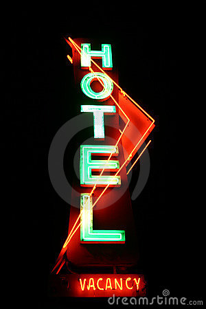 Free Hotel Sign Stock Image - 176141