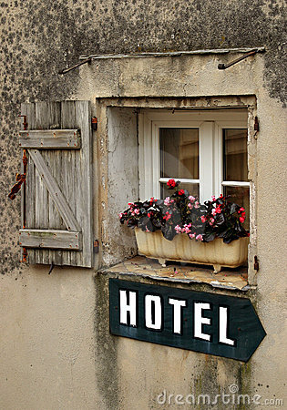 Free Hotel Sign Stock Photo - 58970