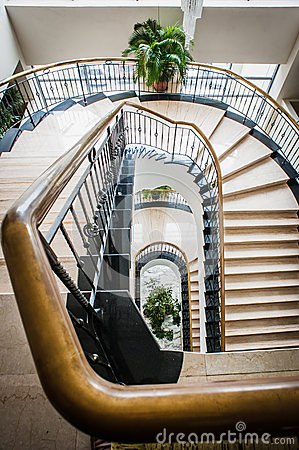 Hotel Staircase