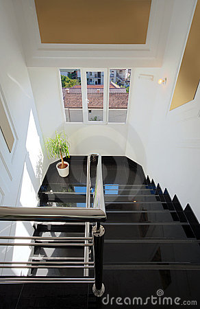 Hotel stairways