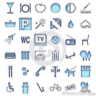 Hotel symbols