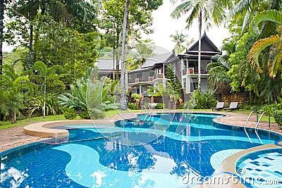 Hotel in the tropics