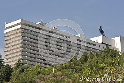 Hotel Yalta in Crimea Editorial Stock Image
