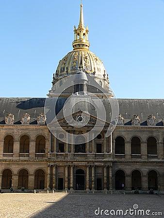 Hotelu des Invalides, Paryż