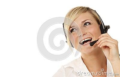 Hotline girl look up