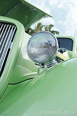 Free Hotrod Grille Royalty Free Stock Photos - 9298578