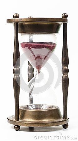 Hour glass time Stock Photo
