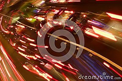 Hour rush traffic
