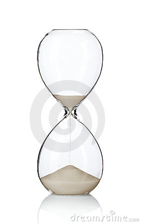 Free Hourglass Royalty Free Stock Photos - 23885668