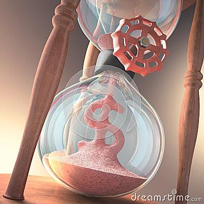 Hourglass-Geschäft