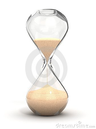 Free Hourglass, Sandglass, Sand Timer, Sand Clock Royalty Free Stock Photo - 19349835