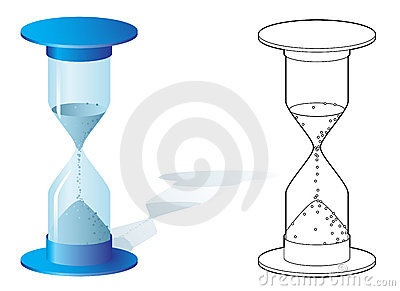 Hourglass in two styles