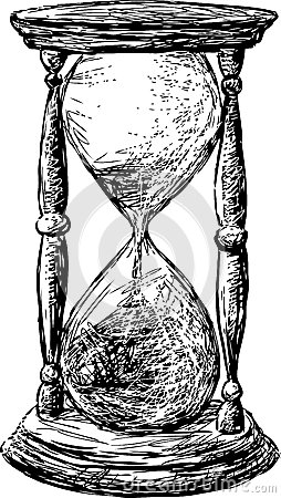 Hourglass Royalty Free Stock Photography Image