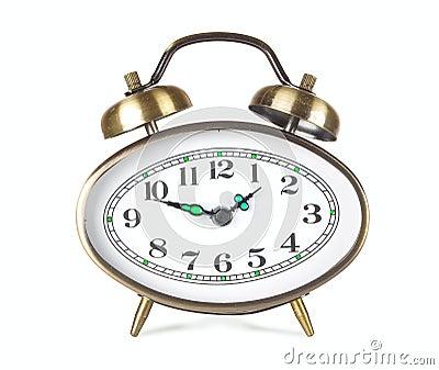 Hours an alarm clock