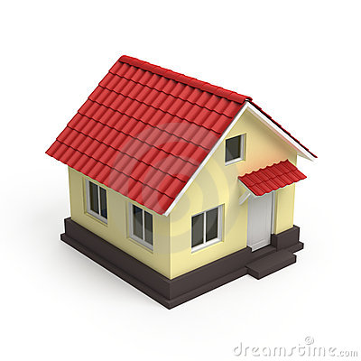 House 3d icon royalty free stock photo image 22007055 for Designer di case virtuali gratis