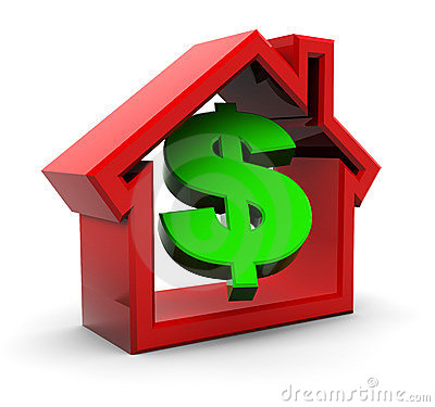 Free House And Money Royalty Free Stock Photos - 17646448