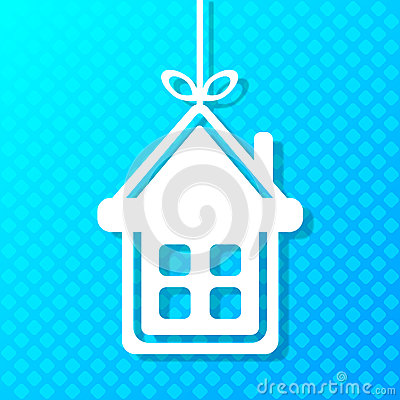 House applique background