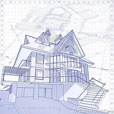 House - architecture concept