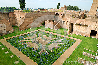 House of Augustus at the Palatine Hill in Rome