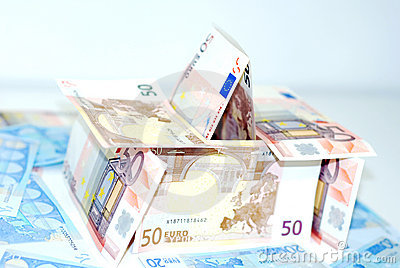 House of bank notes