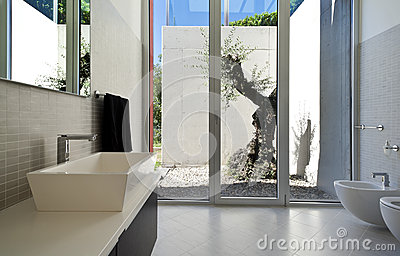 House, Bathroom Stock Image - Image: 26974711