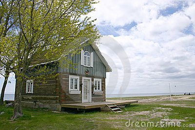 House and beach