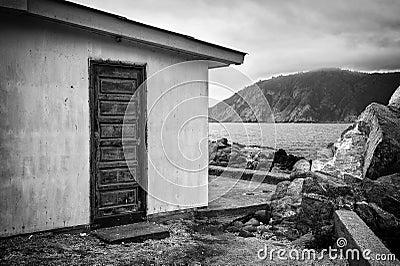 House in the beach