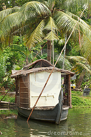 House-boat on Kerala backwaters