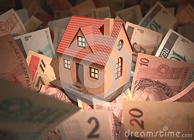 House Brazilian Money