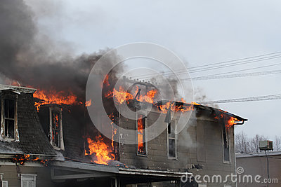 House burning, Iowa