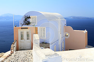 House with caldera view