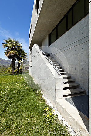 House in cement, outdoor