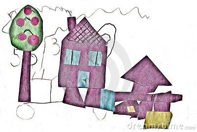 House-child illustration