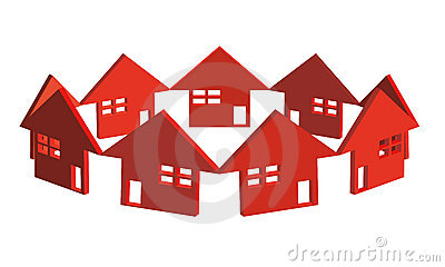 House circle - vector