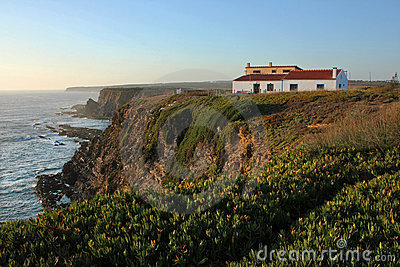 House in the cliff