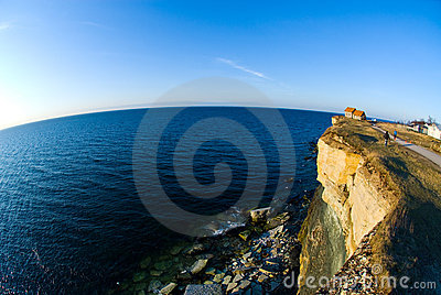 House on Cliff Edge