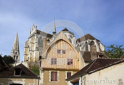The house of coche d eau 16 century Auxerre
