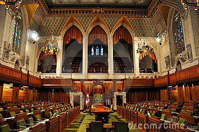 House of Commons of Parliament, Ottawa, Canada