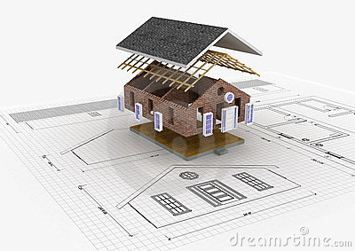 House Construction Concept