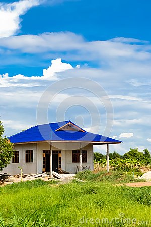 House on the countryside