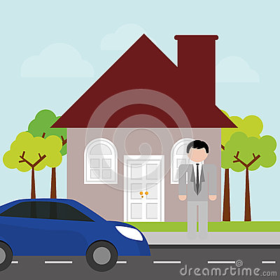 House Design Stock Vector Image 59062066