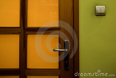House door detail