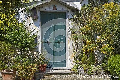 House door in Liguria